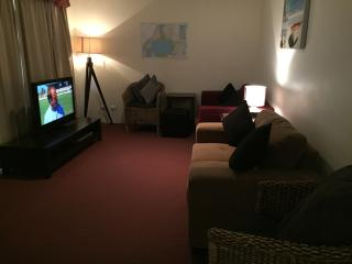 Lounge room with LCD TV