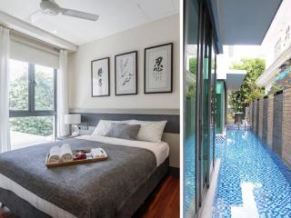 Luxury suite roomEZS-3 max 3pax*Near MRT*with pool, Singapur