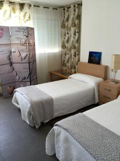 2 or 3 single beds bedroom