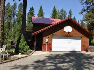 Cabin in the Pines is on 3.5 acres with Nordic Trail to Jug Mountain Ranch