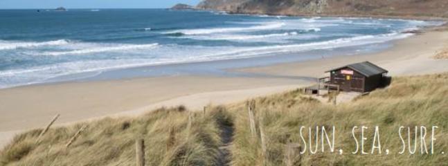 Sennen Beach - ideal surfing!