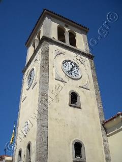 the Venetian clock at the historical centre