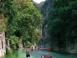 riversports at the mythical river Axeron