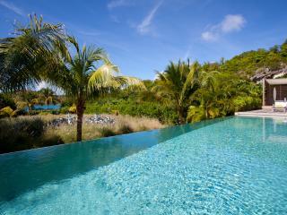 Beachfront Villa in a Private Domain Luxury