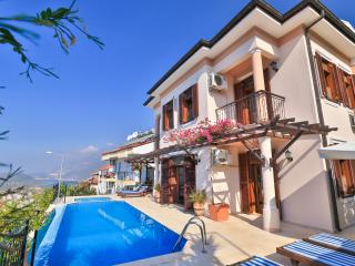 Large town villa with wonderful sea views