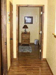 hallway in the arrowhead