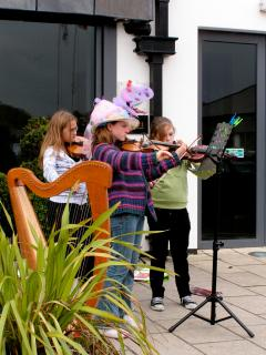 Musicians start young in Ireland