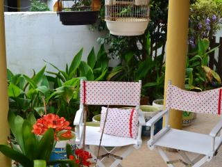 Casa no jardim com dois quartos, Vila Nova de Milfontes