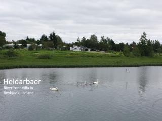 Riverfront Villa in Reykjavik