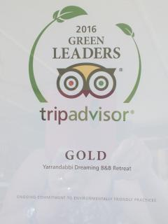Winner of Trip Advisor's Certificates of Excellence 2013, 14, 2015 and 17Gold Leaders Award 2015/16.