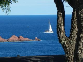 mobil home vue sur mer, Saint-Raphael