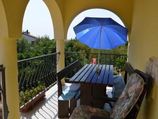 Familien-Appartments Jaclina für 5Personen mit Garten in Istrien.