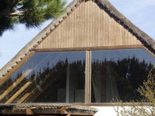 Casita techo de paja