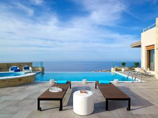 Sky & Sea are Merging at Blue Key Villa, Agia Pelagia