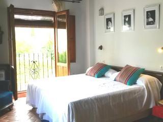 Suite Junior vue sur jardin - proche Alhambra -Albaicin-Grenade