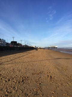 Beautiful Cleethorpes beach