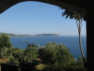 Casa Pisani a picco sul mare della Costa Cilentana, Caprioli