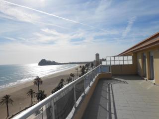 Atico con gran terraza y excelentes vistas al mar y al castillo. (ref 250)