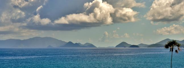View to the East of the BVI's
