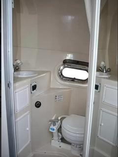Marine Toilet,  shower