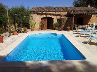 Casa rural con piscina y bosque