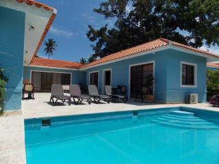 4 bedroom beachfront Villa Collina Fresca, Sosua