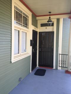 2 bedroom side entrance. Also sleeps 8. Upstairs/downstairs- or get the entire house for up to 16ppl