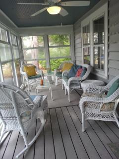 front porch (partial view)