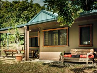 The Nutty bungalow on peaceful nut orchard