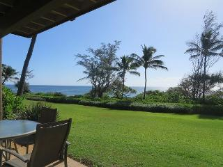 Kaha Lani Resort #123, Oceanfront, Ground Fl., Steps to Beach, Free Wifi/Pkg, Lihue