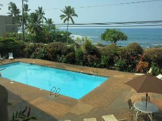 Holualoa Bay Villas: 106 Beautiful Oceanview, AC, Elevators, Wifi!, Kailua-Kona