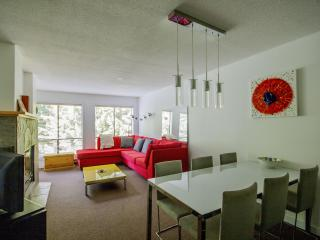 'Powderhorn' 2 bedroom w/ roof top hot tub & panoramic views!