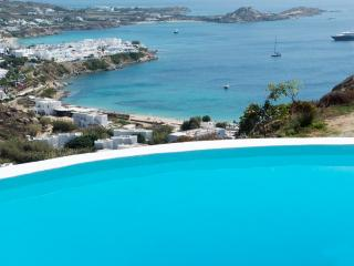 Mykonos Villa Azzura  private pool sleeps 6 with  stunning seaviews near to