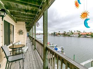 3BR Waterfront Condo on North Padre Island, Boat Slips Available!