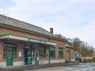STATION MASTER'S FLAT, first floor flat, above ticket office in railway station,