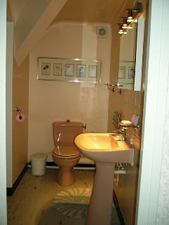 Thibault Villa France. Upstairs bathroom