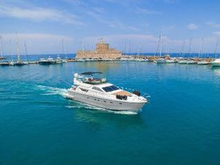 Yacht for daily excursions or wedding reception Lady S, Rhodes Town