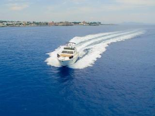 Yacht for daily excursions or wedding reception Lady S