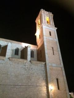 Beautiful church at Altea - can be reached on foot or by taxi/public transport