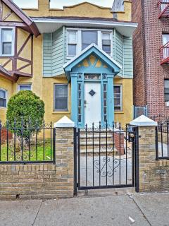 You can't miss this colorful exterior!