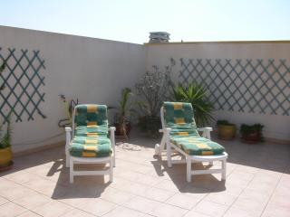 Private roof terrace penthouse apartment, sea view, communal pool
