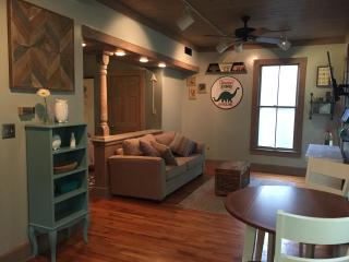 Quirky, Modern Rental W/Kitchen and Right DOWNTOWN, Eureka Springs