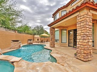 New Listing! Extraordinary 3BR Mesa House w/Wifi, Outdoor Fireplace & Private Pool - Near Upscale Golf Courses & Within 2 Hours of Tonto National Forest!