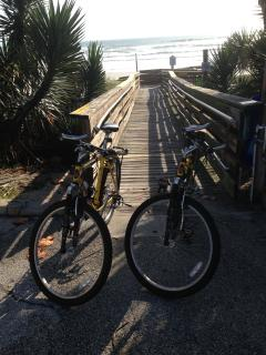 Private Beach Access - 5 min WALK from the House - you can ride bikes on the beach