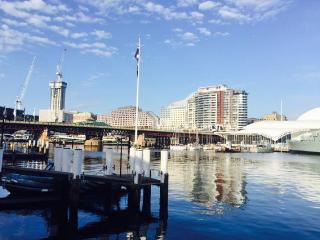 5 mins walk to Darling Harbour