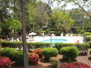 Golf Colony Resort comfortable 2bd/2ba Villa overlooking pool-1J, Myrtle Beach