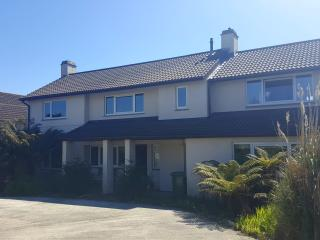 Carlyon Bay House next to beach and golf course, St Austell
