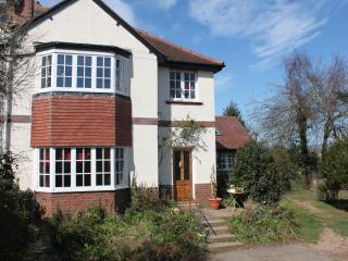 Spacious 1930 semi detached house with gardens, Budleigh Salterton