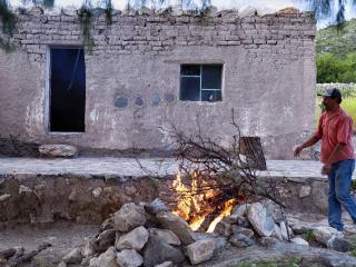 Cabaña en desierto con Temazcal  Cabin & tents, Estación Catorce