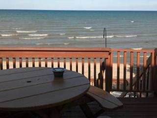 Lake (Huron) Front Home for Rent, sandy Beach